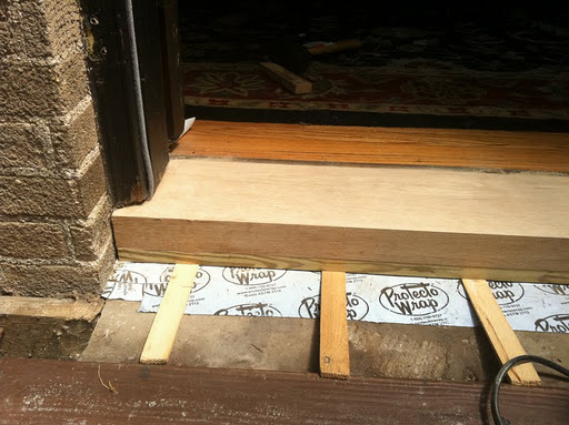 The Final Stretch! Replacing the Door Sill/Threshold | A ...