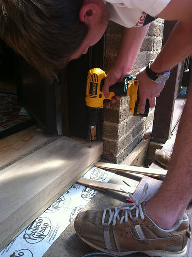 The Final Stretch Replacing The Door Sill Threshold A