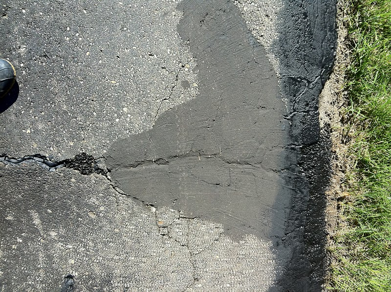 Crack sealer for driveways