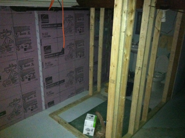 finishing the basement xps foam board insulation a home in college