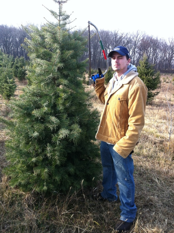 geoff with tree