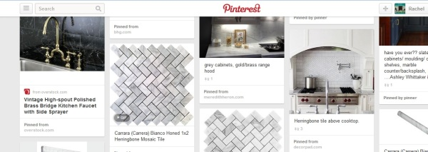 pinterest backsplash